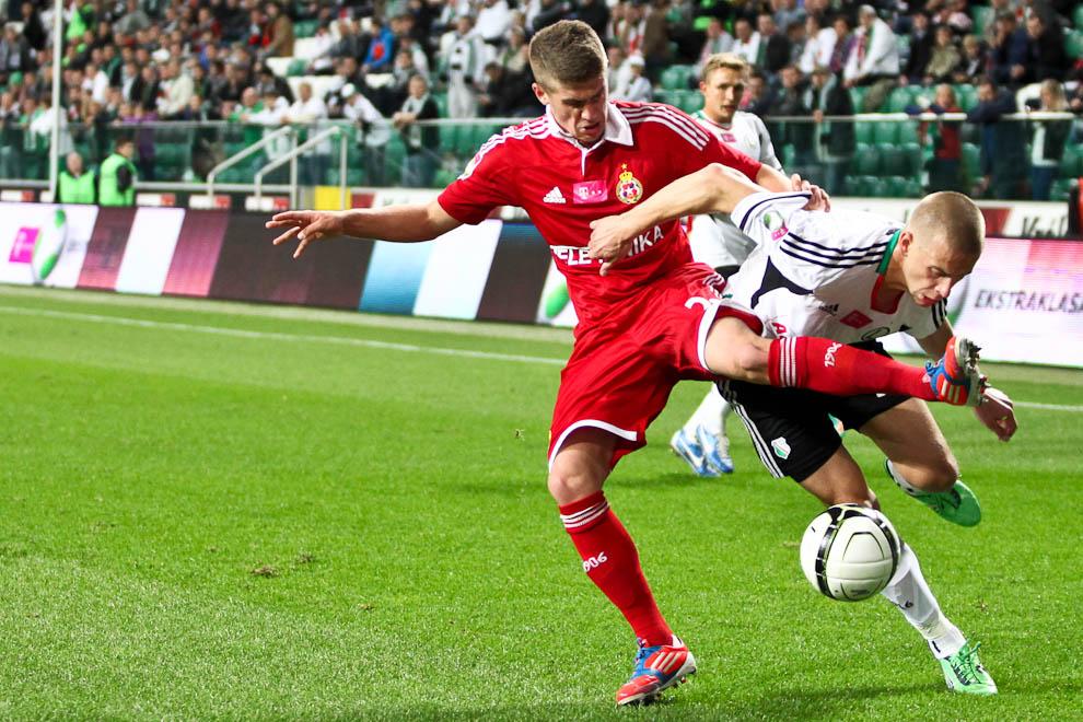 Legia Warszawa 2-1 Wisła Kraków - fot. Piotr Galas / Wiadomosci24.pl (zdjęcie 29 z 65)