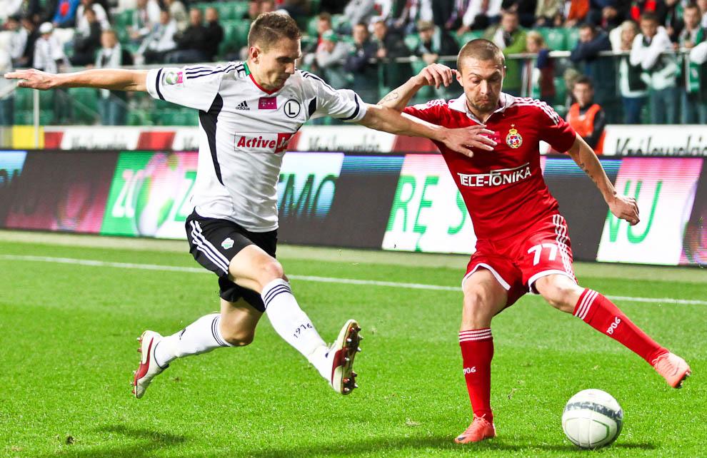Legia Warszawa 2-1 Wisła Kraków - fot. Piotr Galas / Wiadomosci24.pl (zdjęcie 35 z 65)
