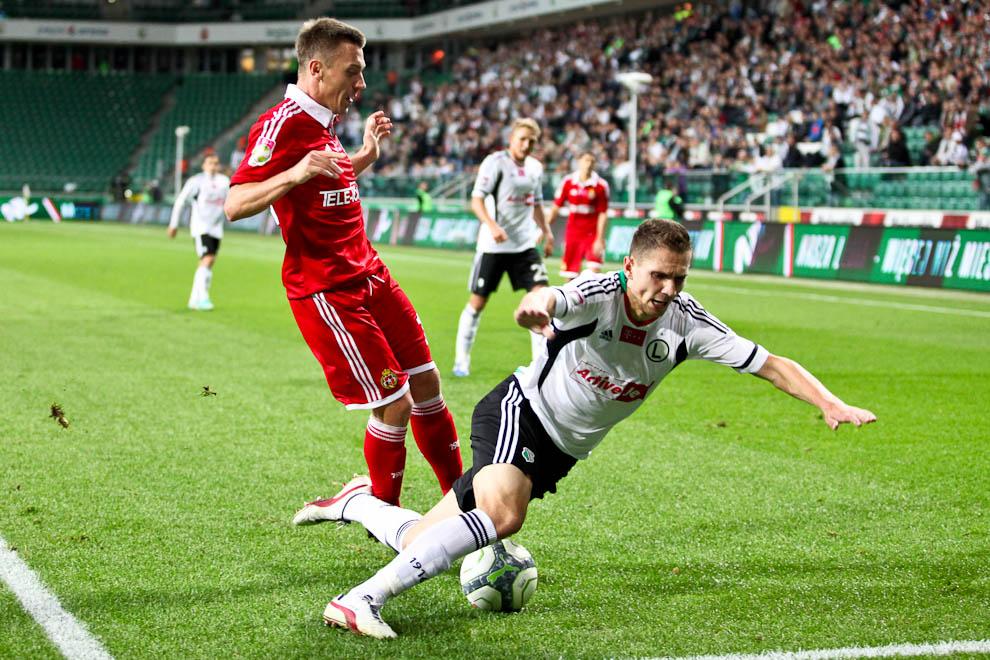 Legia Warszawa 2-1 Wisła Kraków - fot. Piotr Galas / Wiadomosci24.pl (zdjęcie 36 z 65)