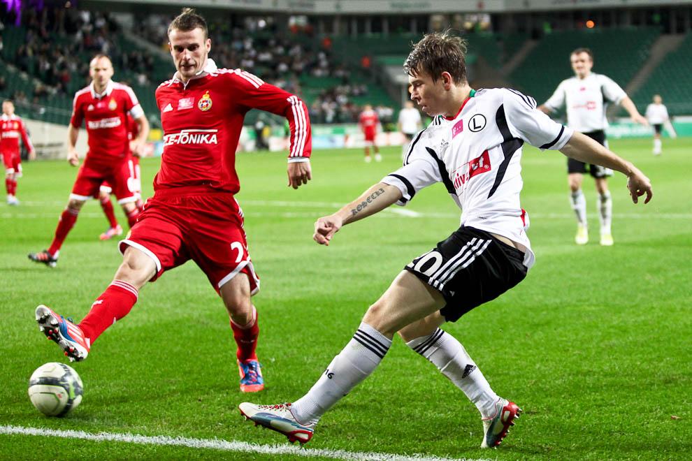 Legia Warszawa 2-1 Wisła Kraków - fot. Piotr Galas / Wiadomosci24.pl (zdjęcie 42 z 65)