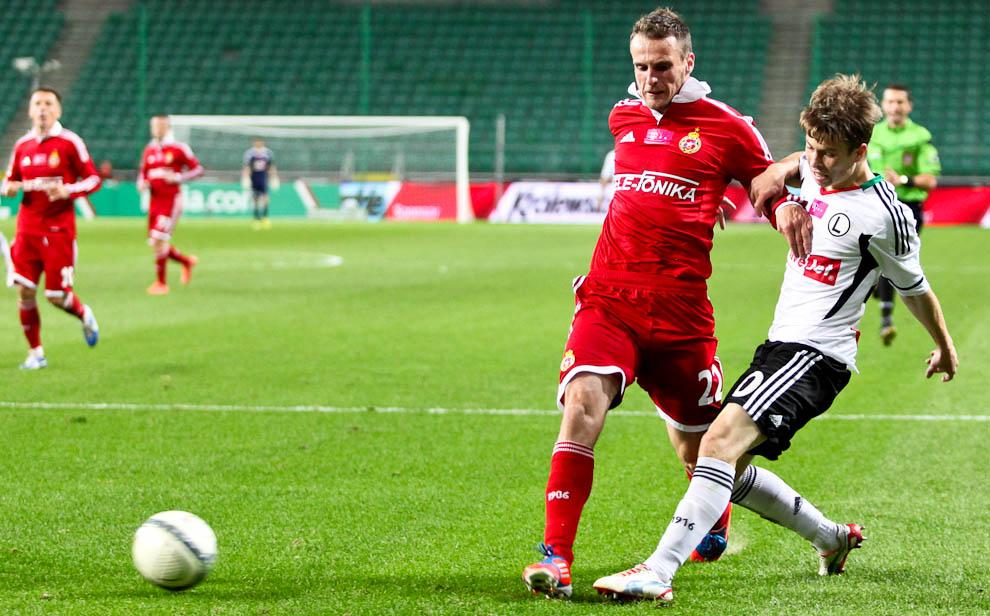 Legia Warszawa 2-1 Wisła Kraków - fot. Piotr Galas / Wiadomosci24.pl (zdjęcie 46 z 65)