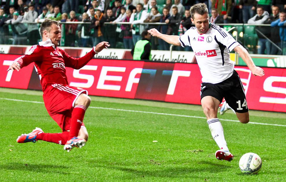 Legia Warszawa 2-1 Wisła Kraków - fot. Piotr Galas / Wiadomosci24.pl (zdjęcie 48 z 65)