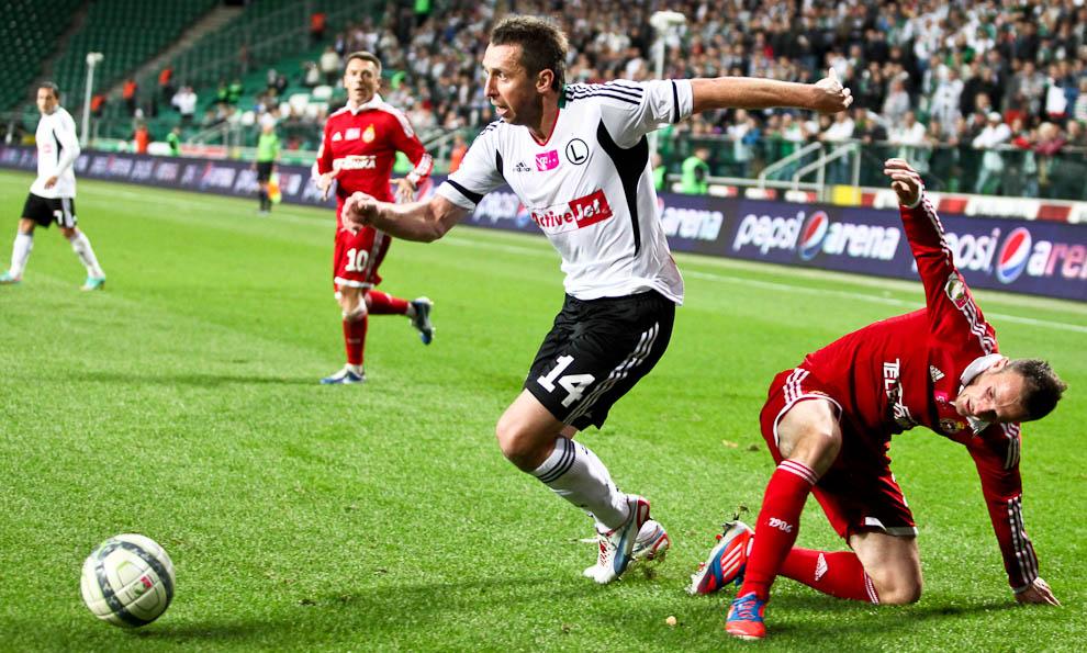 Legia Warszawa 2-1 Wisła Kraków - fot. Piotr Galas / Wiadomosci24.pl (zdjęcie 49 z 65)