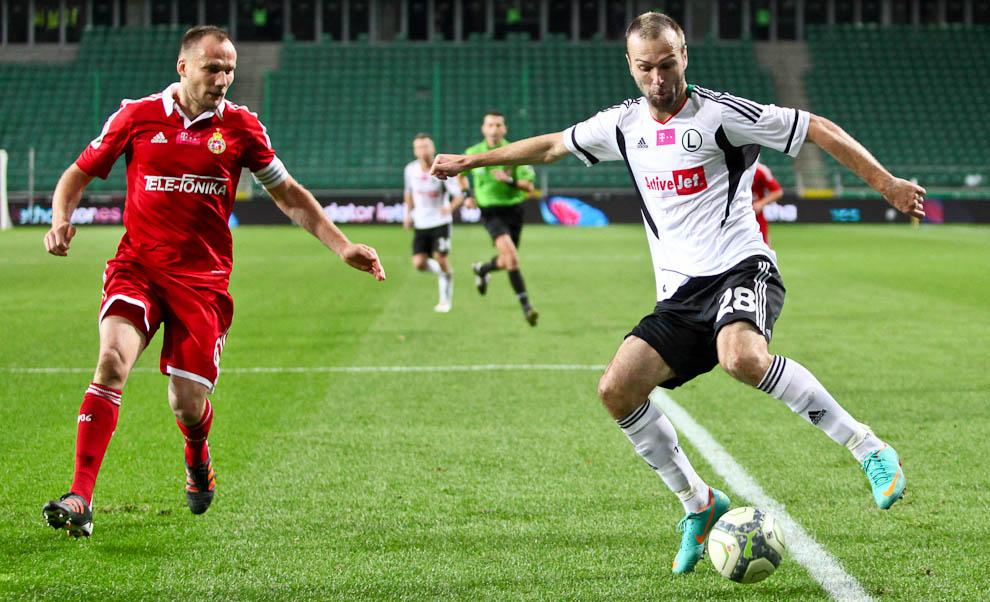 Legia Warszawa 2-1 Wisła Kraków - fot. Piotr Galas / Wiadomosci24.pl (zdjęcie 54 z 65)