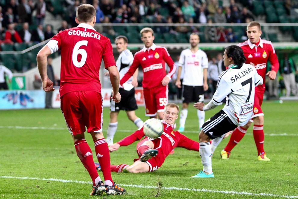 Legia Warszawa 2-1 Wisła Kraków - fot. Piotr Galas / Wiadomosci24.pl (zdjęcie 57 z 65)