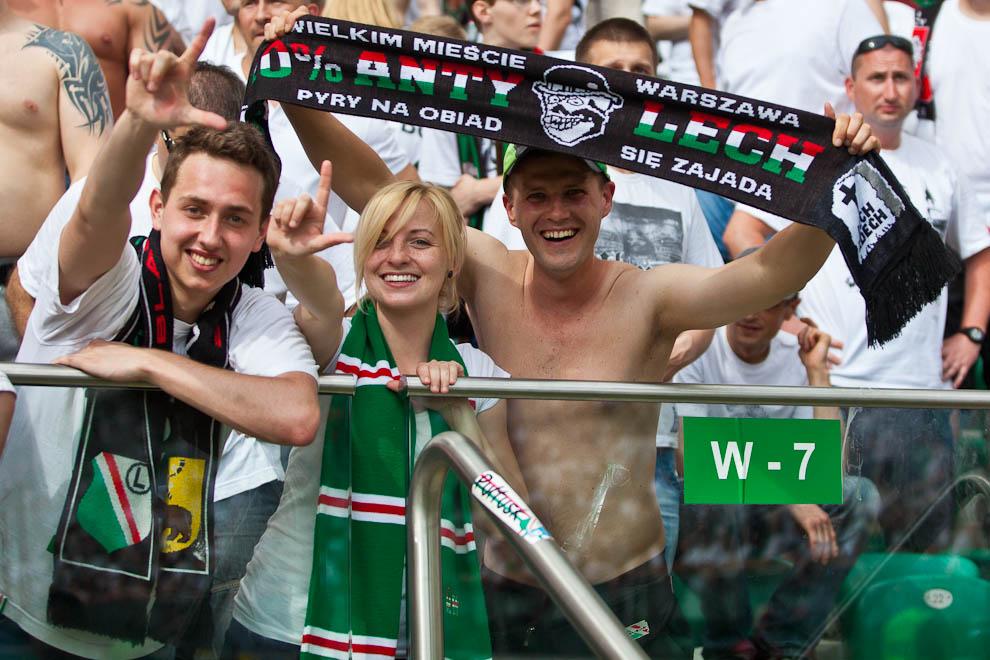 Legia Warszawa 1-0 Lech Poznań - fot. Piotr Galas/Wiadomosci24.pl (zdjęcie 107 z 110)