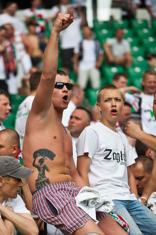 Legia Warszawa 1-0 Lech Poznań - fot. Piotr Galas/Wiadomosci24.pl (zdjęcie 108 z 110)