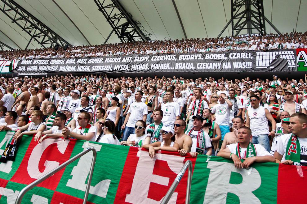 Legia Warszawa 1-0 Lech Poznań - fot. Piotr Galas/Wiadomosci24.pl (zdjęcie 40 z 110)