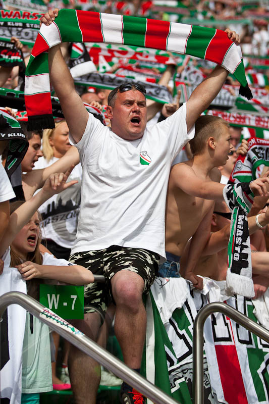 Legia Warszawa 1-0 Lech Poznań - fot. Piotr Galas/Wiadomosci24.pl (zdjęcie 88 z 110)