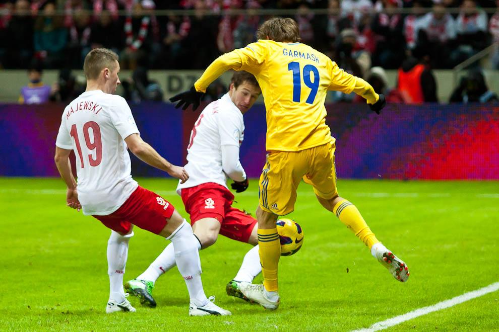 Polska 1-3 Ukraina - fot. Piotr Galas (zdjęcie 55 z 70)