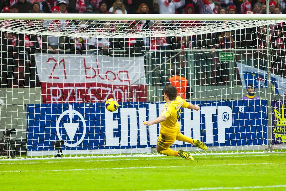 Polska 1-3 Ukraina - fot. Piotr Galas (zdjęcie 58 z 70)