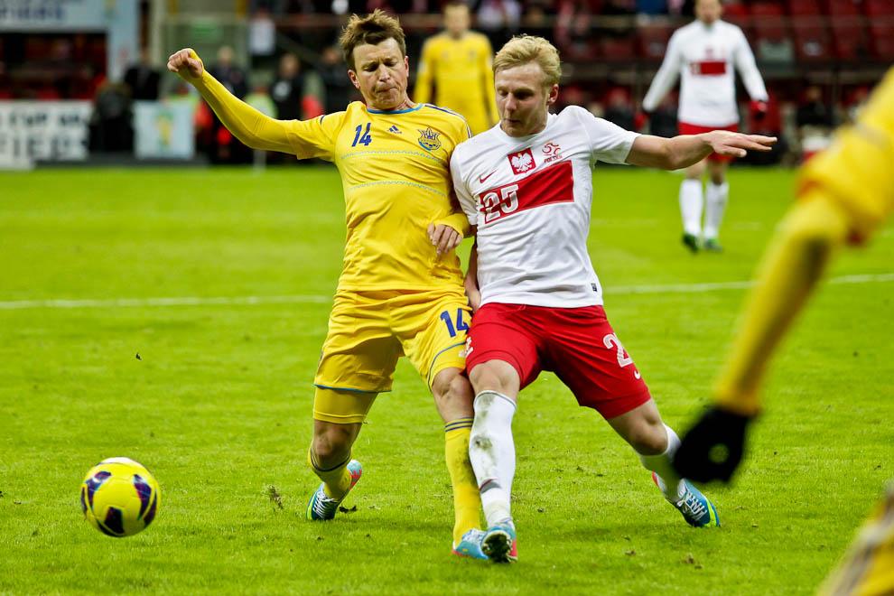 Polska 1-3 Ukraina - fot. Piotr Galas (zdjęcie 59 z 70)