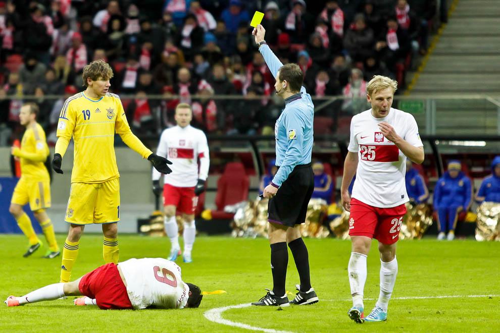 Polska 1-3 Ukraina - fot. Piotr Galas (zdjęcie 61 z 70)
