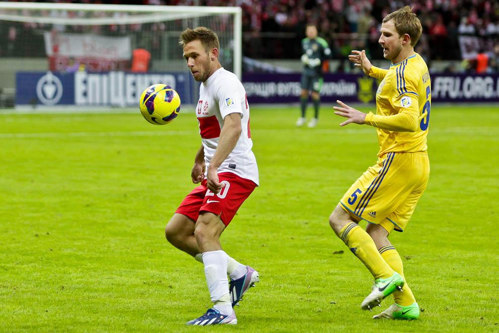 Polska 1-3 Ukraina - fot. Piotr Galas (zdjęcie 67 z 70)