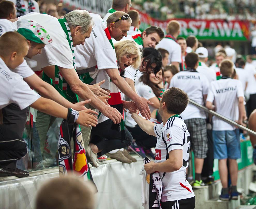 Legia Warszawa 0-1 Śląsk Wrocław - fot. Piotr Galas/Wiadomosci24.pl (zdjęcie 84 z 86)