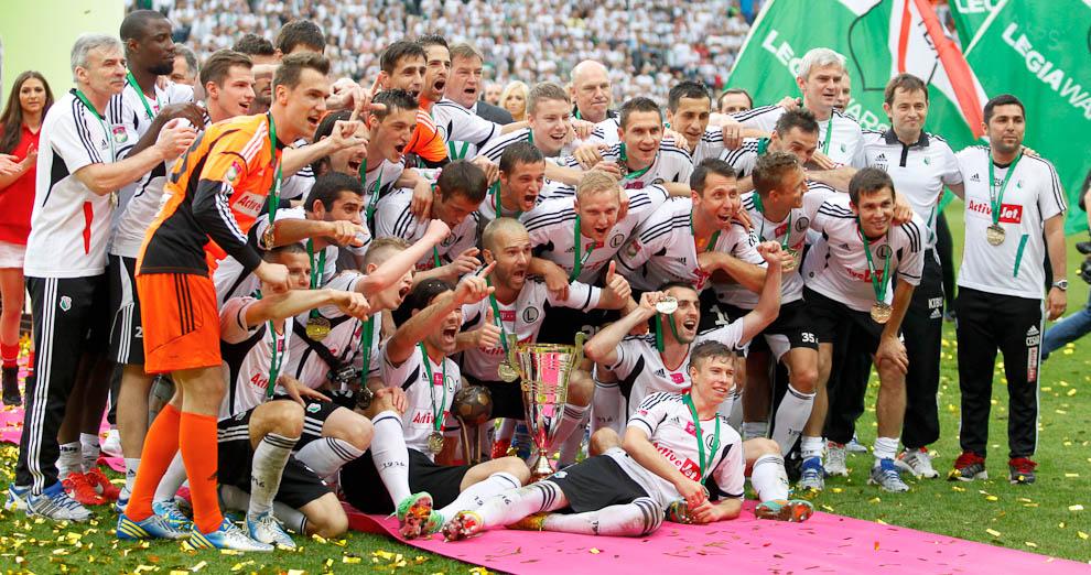Legia Warszawa 5-0 Śląsk Wrocław - fot. Piotr Galas/Wiadomosci24.pl (zdjęcie 100 z 121)