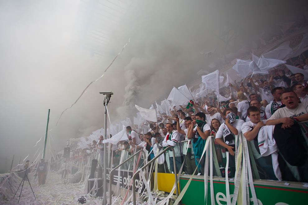 Legia Warszawa 5-0 Śląsk Wrocław - fot. Piotr Galas/Wiadomosci24.pl (zdjęcie 2 z 121)
