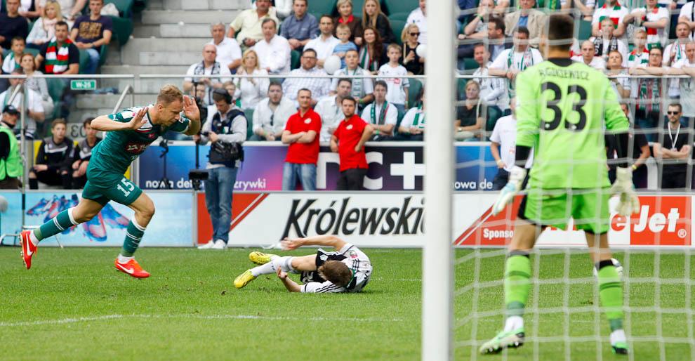Legia Warszawa 5-0 Śląsk Wrocław - fot. Piotr Galas/Wiadomosci24.pl (zdjęcie 34 z 121)