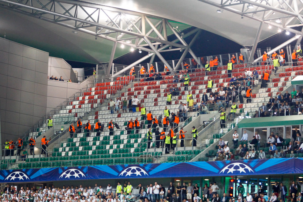 Legia Warszawa 2-2 Steaua Bukareszt - fot. Piotr Galas / Wiadomosci24.pl (zdjęcie 11 z 87)