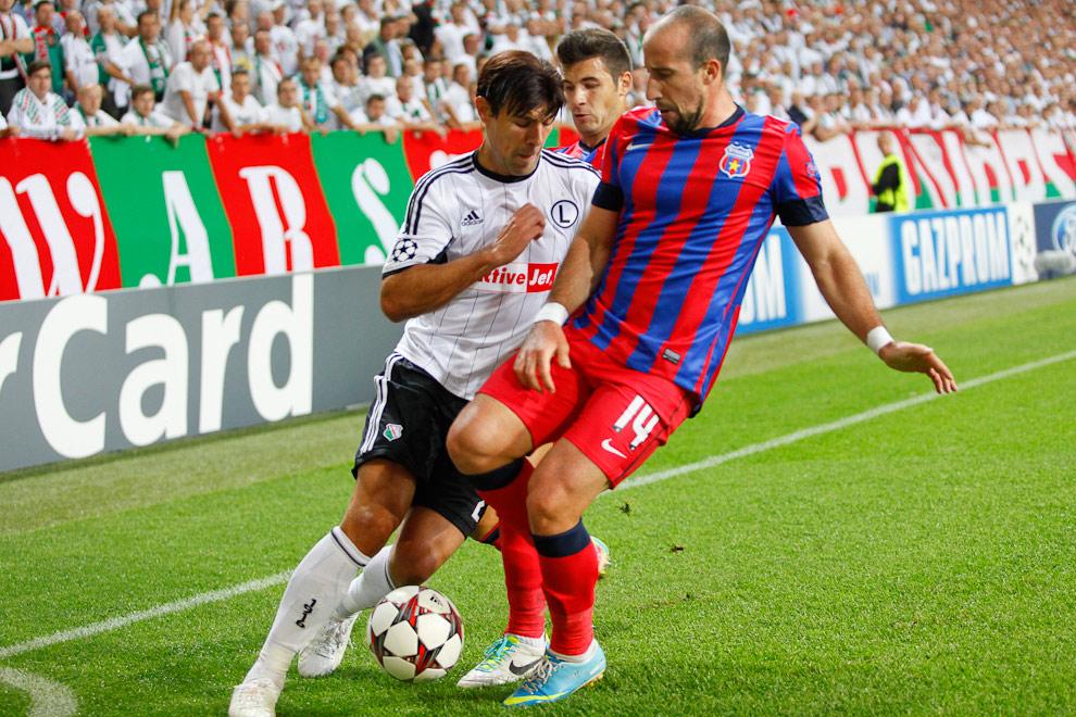 Legia Warszawa 2-2 Steaua Bukareszt - fot. Piotr Galas / Wiadomosci24.pl (zdjęcie 14 z 87)