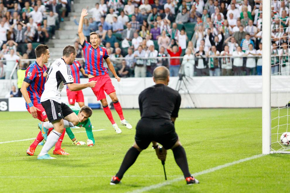 Legia Warszawa 2-2 Steaua Bukareszt - fot. Piotr Galas / Wiadomosci24.pl (zdjęcie 16 z 87)