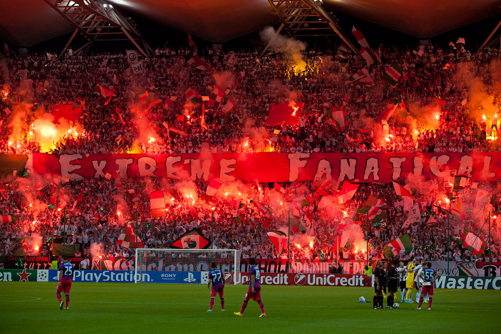 Legia Warszawa 2-2 Steaua Bukareszt - fot. Piotr Galas / Wiadomosci24.pl (zdjęcie 2 z 87)