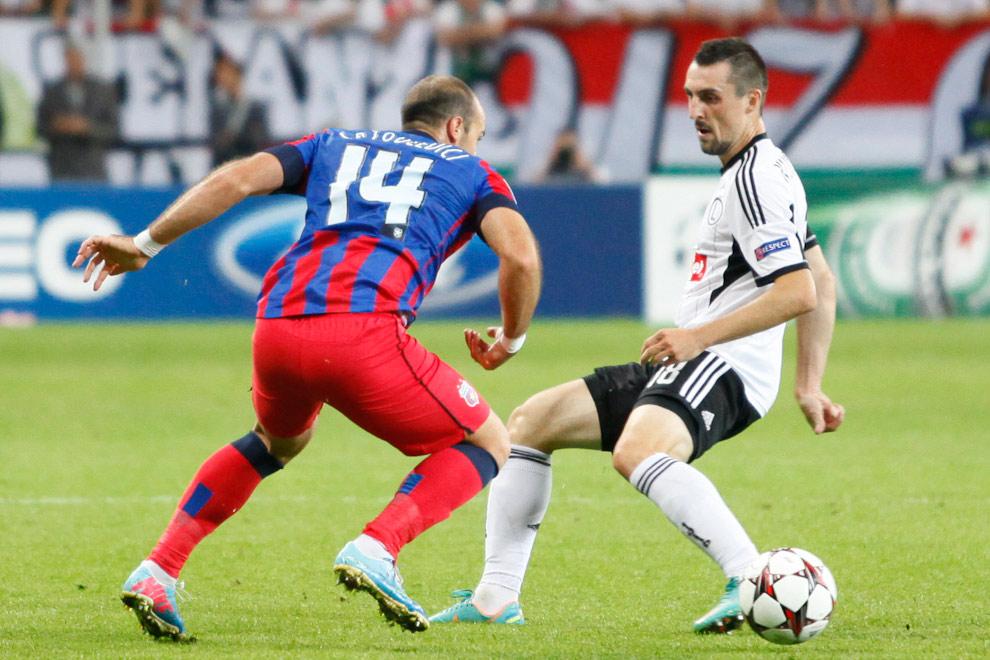 Legia Warszawa 2-2 Steaua Bukareszt - fot. Piotr Galas / Wiadomosci24.pl (zdjęcie 20 z 87)