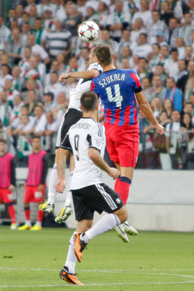 Legia Warszawa 2-2 Steaua Bukareszt - fot. Piotr Galas / Wiadomosci24.pl (zdjęcie 21 z 87)