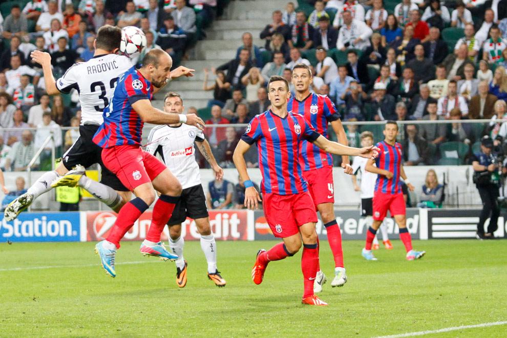 Legia Warszawa 2-2 Steaua Bukareszt - fot. Piotr Galas / Wiadomosci24.pl (zdjęcie 22 z 87)