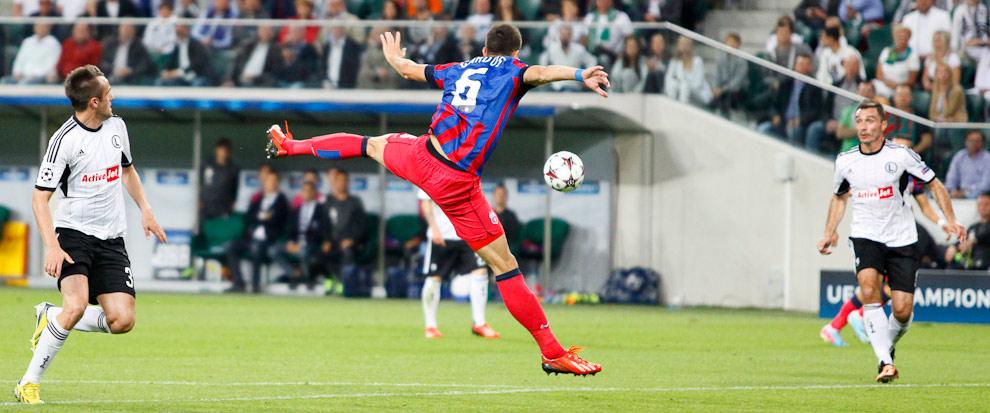 Legia Warszawa 2-2 Steaua Bukareszt - fot. Piotr Galas / Wiadomosci24.pl (zdjęcie 27 z 87)