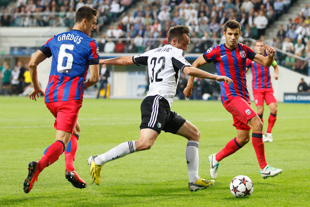 Legia Warszawa 2-2 Steaua Bukareszt - fot. Piotr Galas / Wiadomosci24.pl (zdjęcie 28 z 87)