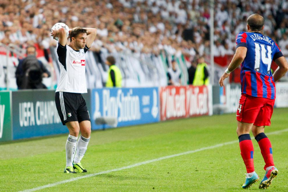 Legia Warszawa 2-2 Steaua Bukareszt - fot. Piotr Galas / Wiadomosci24.pl (zdjęcie 30 z 87)