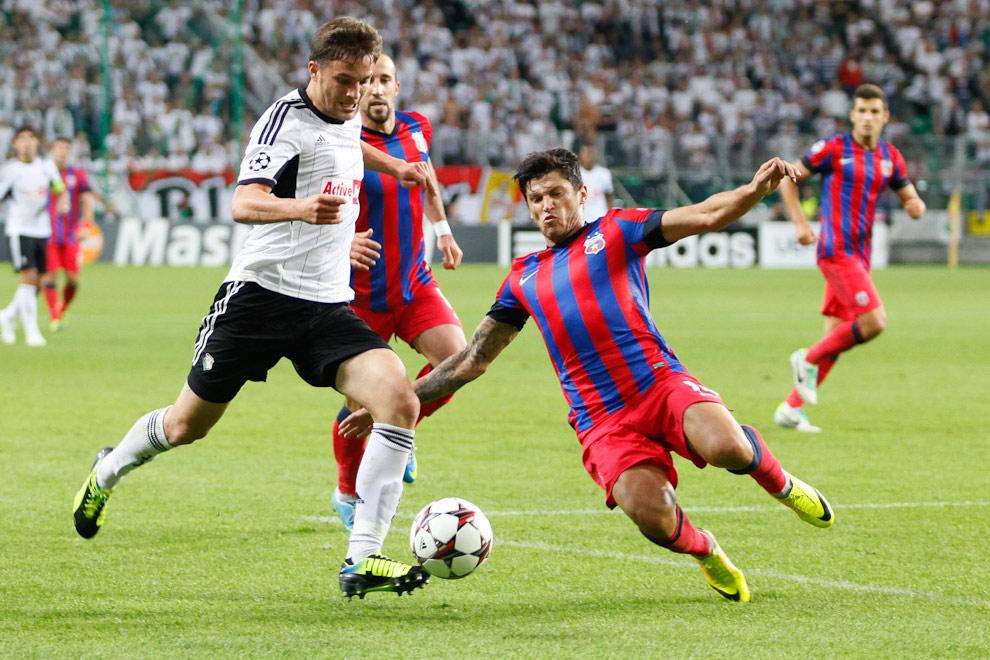 Legia Warszawa 2-2 Steaua Bukareszt - fot. Piotr Galas / Wiadomosci24.pl (zdjęcie 33 z 87)