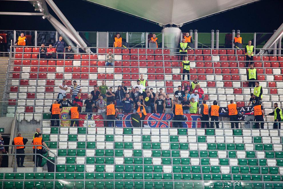 Legia Warszawa 2-2 Steaua Bukareszt - fot. Piotr Galas / Wiadomosci24.pl (zdjęcie 37 z 87)