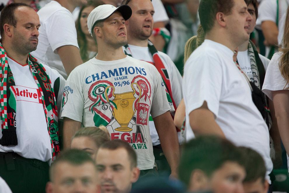 Legia Warszawa 2-2 Steaua Bukareszt - fot. Piotr Galas / Wiadomosci24.pl (zdjęcie 38 z 87)
