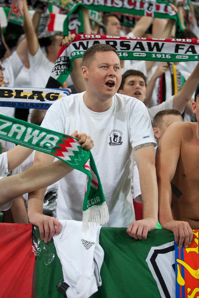 Legia Warszawa 2-2 Steaua Bukareszt - fot. Piotr Galas / Wiadomosci24.pl (zdjęcie 40 z 87)