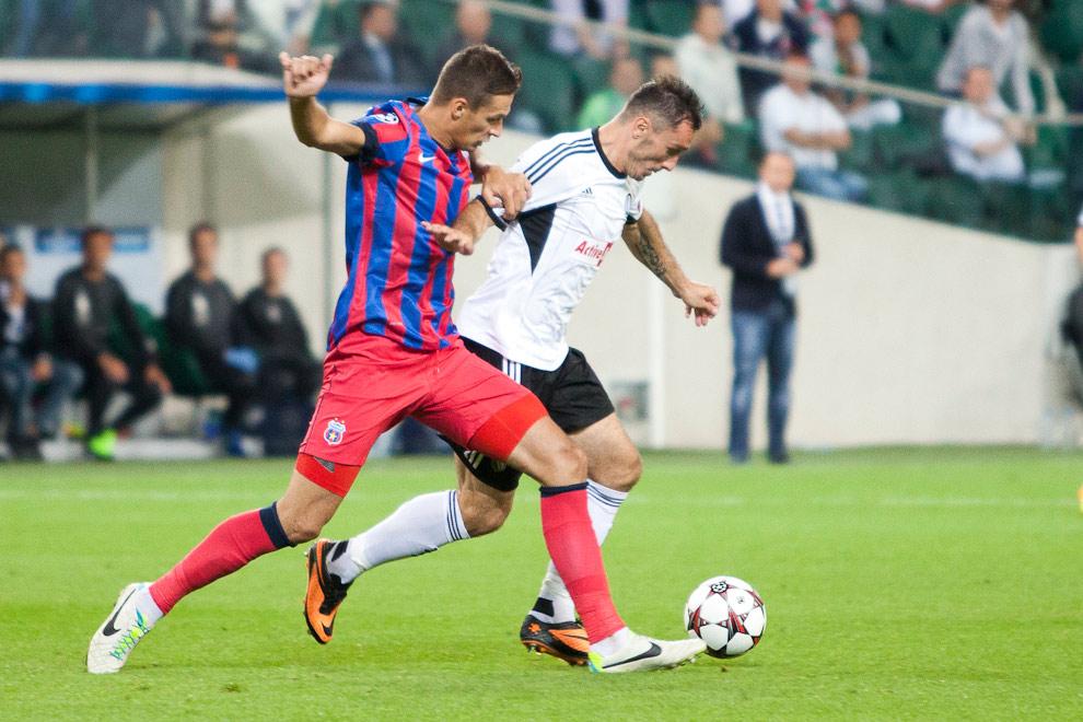 Legia Warszawa 2-2 Steaua Bukareszt - fot. Piotr Galas / Wiadomosci24.pl (zdjęcie 42 z 87)