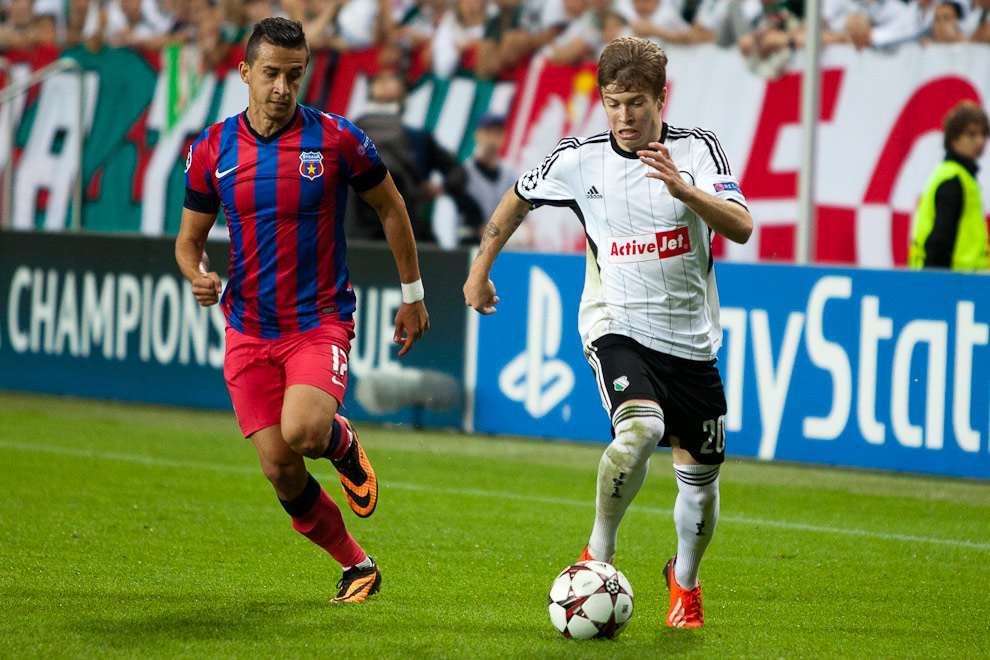 Legia Warszawa 2-2 Steaua Bukareszt - fot. Piotr Galas / Wiadomosci24.pl (zdjęcie 44 z 87)