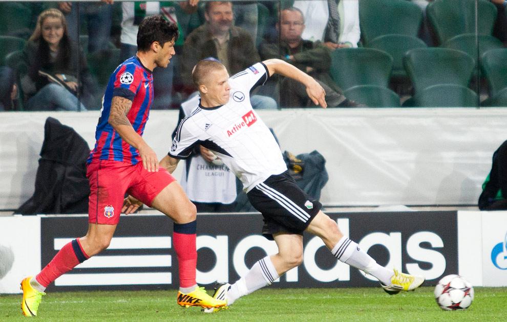 Legia Warszawa 2-2 Steaua Bukareszt - fot. Piotr Galas / Wiadomosci24.pl (zdjęcie 48 z 87)