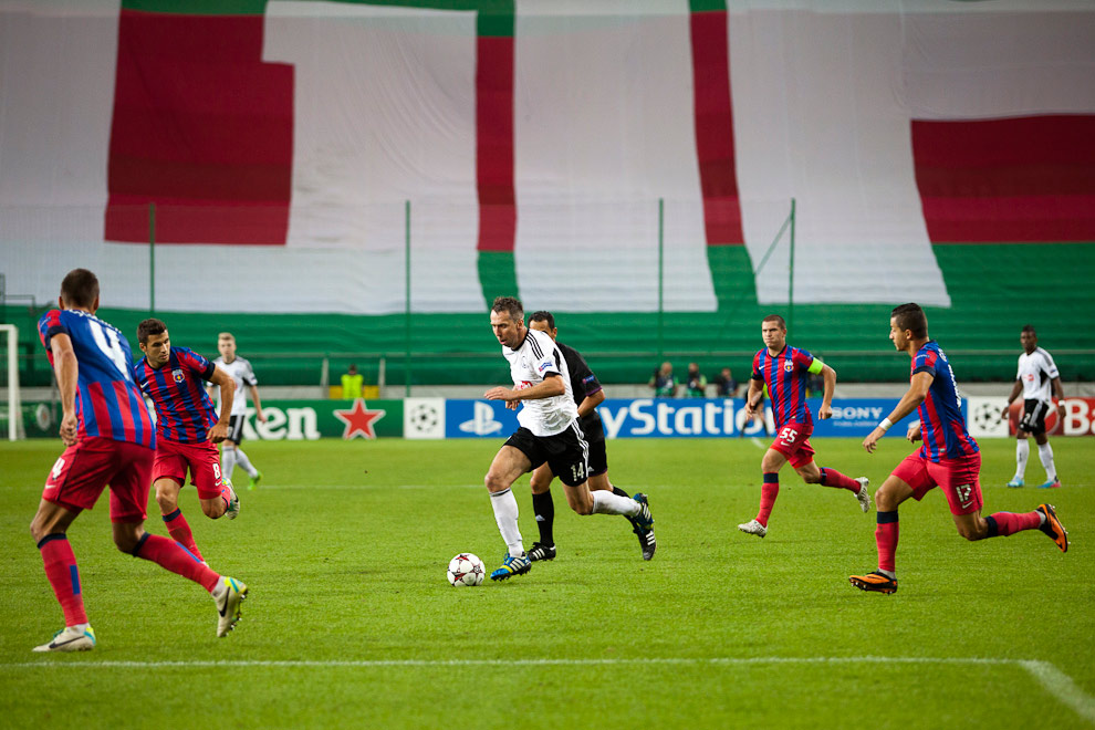 Legia Warszawa 2-2 Steaua Bukareszt - fot. Piotr Galas / Wiadomosci24.pl (zdjęcie 49 z 87)