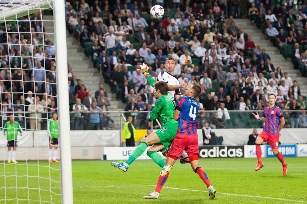 Legia Warszawa 2-2 Steaua Bukareszt - fot. Piotr Galas / Wiadomosci24.pl (zdjęcie 56 z 87)