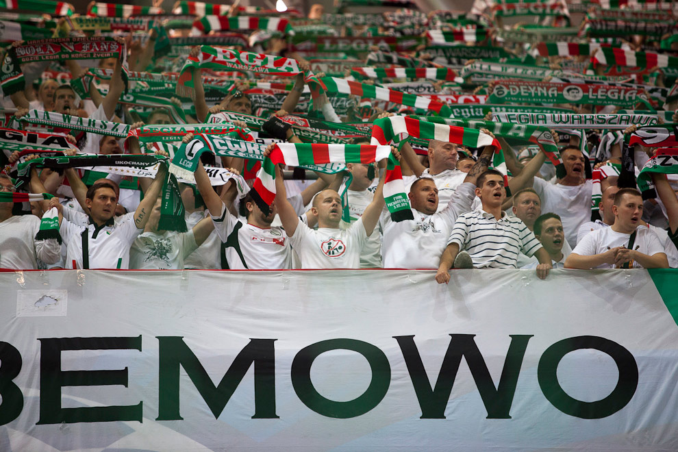 Legia Warszawa 2-2 Steaua Bukareszt - fot. Piotr Galas / Wiadomosci24.pl (zdjęcie 58 z 87)