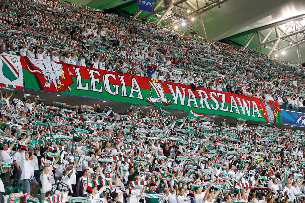 Legia Warszawa 2-2 Steaua Bukareszt - fot. Piotr Galas / Wiadomosci24.pl (zdjęcie 6 z 87)
