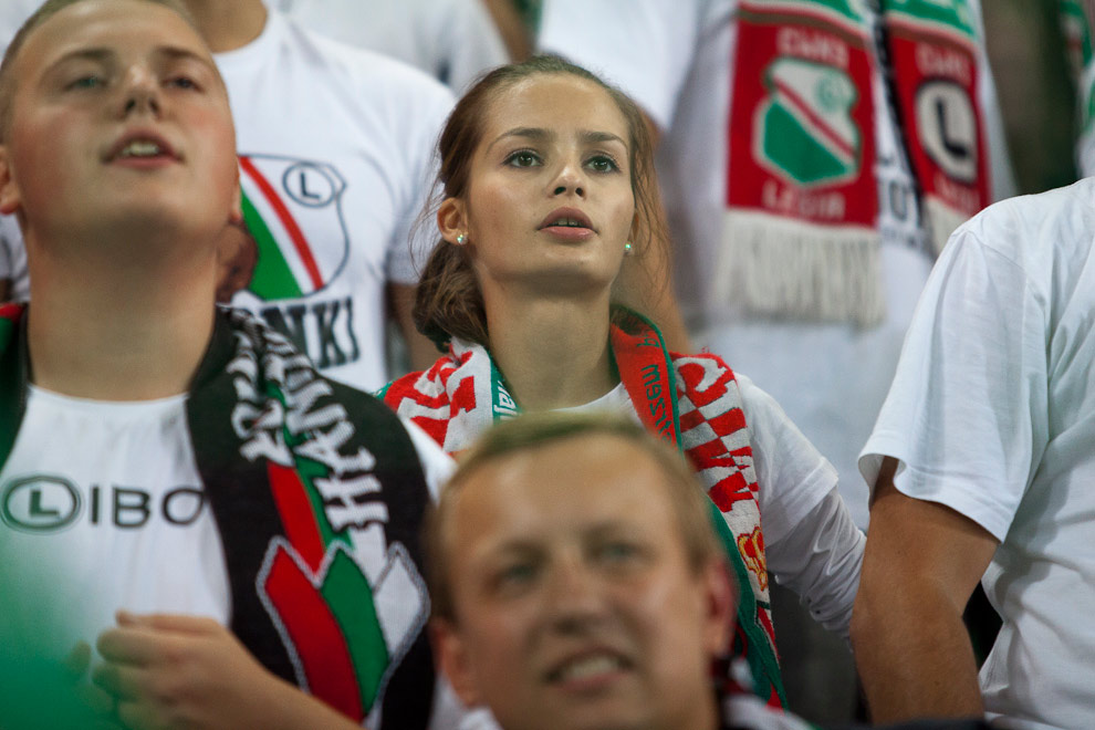 Legia Warszawa 2-2 Steaua Bukareszt - fot. Piotr Galas / Wiadomosci24.pl (zdjęcie 60 z 87)
