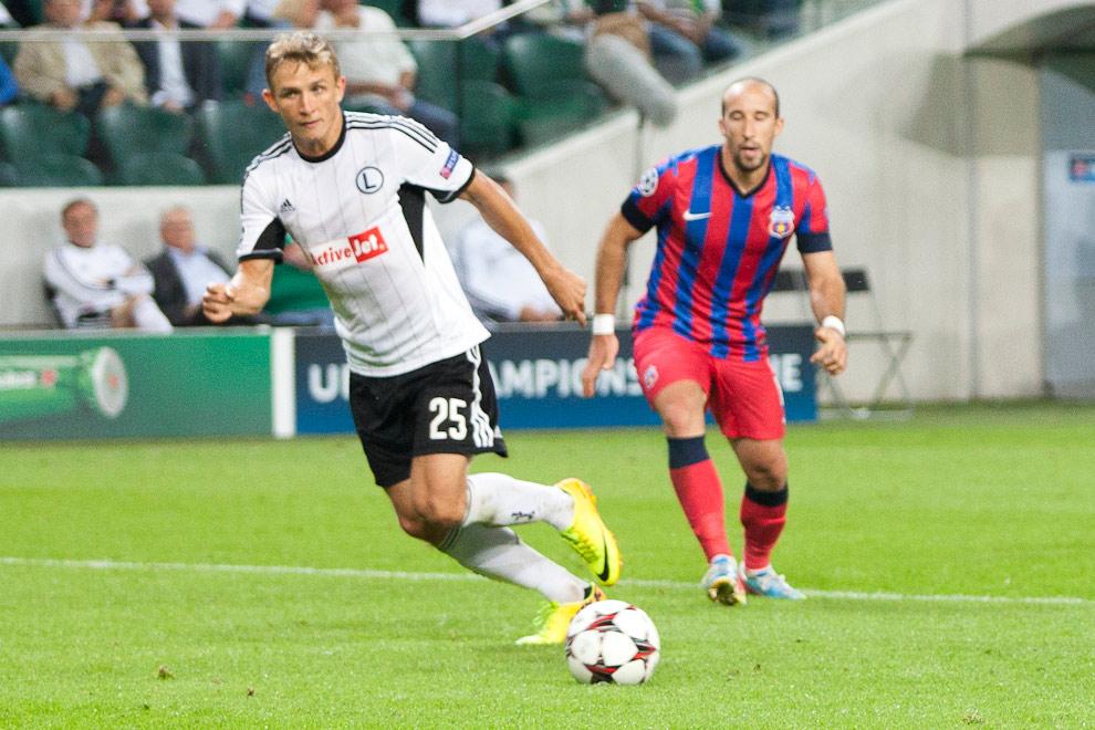 Legia Warszawa 2-2 Steaua Bukareszt - fot. Piotr Galas / Wiadomosci24.pl (zdjęcie 68 z 87)