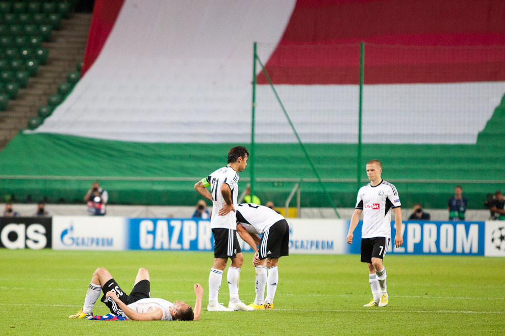 Legia Warszawa 2-2 Steaua Bukareszt - fot. Piotr Galas / Wiadomosci24.pl (zdjęcie 74 z 87)