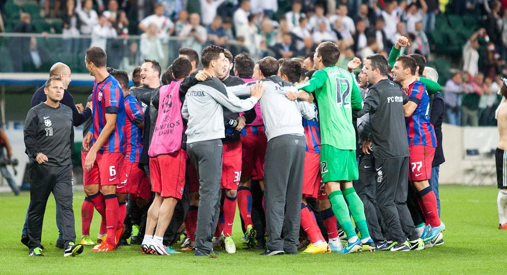 Legia Warszawa 2-2 Steaua Bukareszt - fot. Piotr Galas / Wiadomosci24.pl (zdjęcie 75 z 87)
