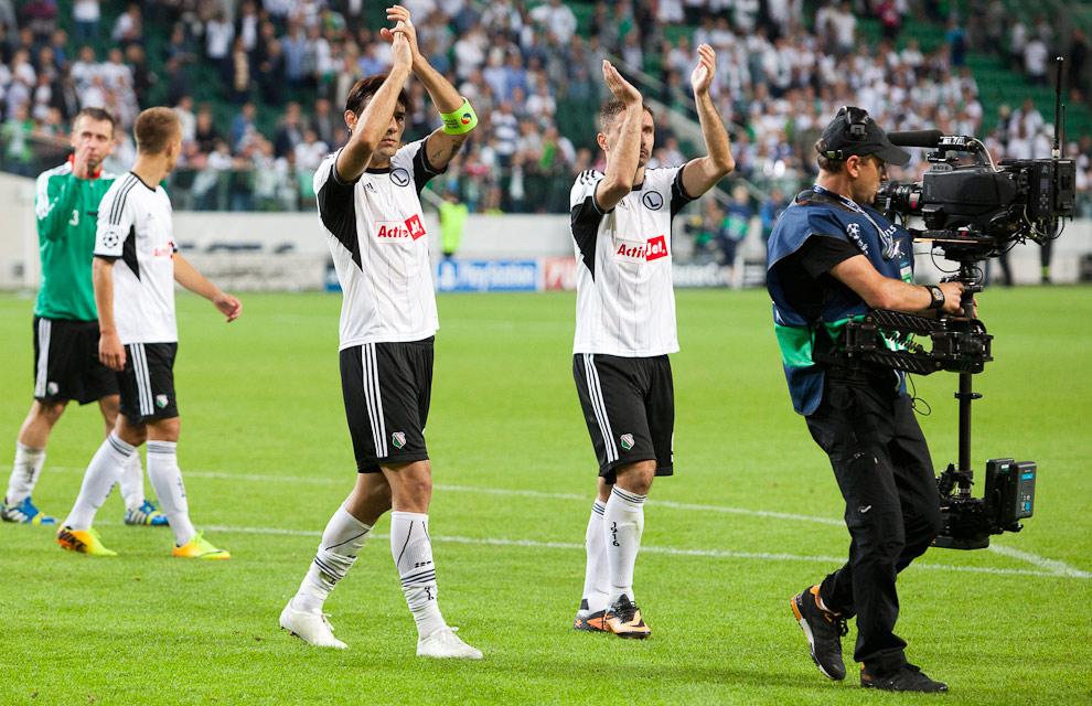 Legia Warszawa 2-2 Steaua Bukareszt - fot. Piotr Galas / Wiadomosci24.pl (zdjęcie 80 z 87)