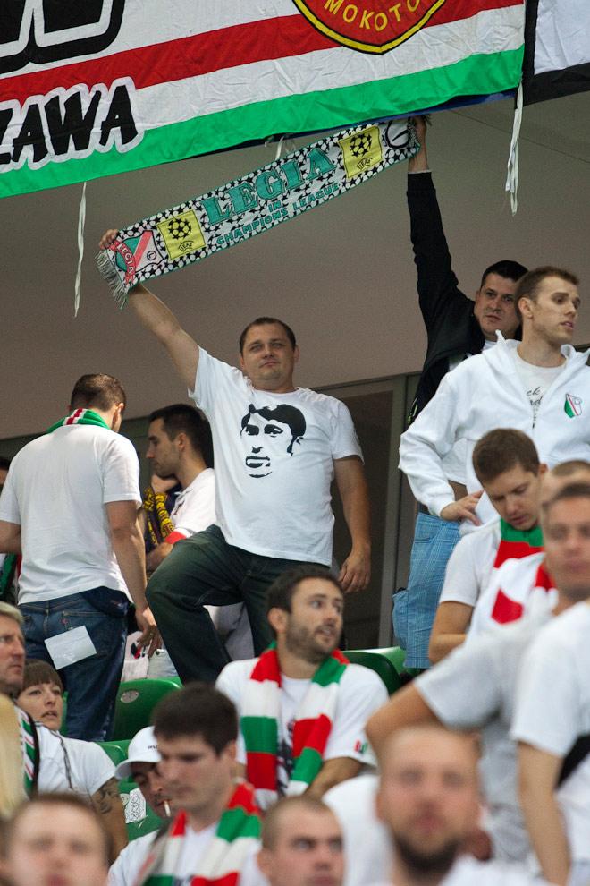 Legia Warszawa 2-2 Steaua Bukareszt - fot. Piotr Galas / Wiadomosci24.pl (zdjęcie 82 z 87)
