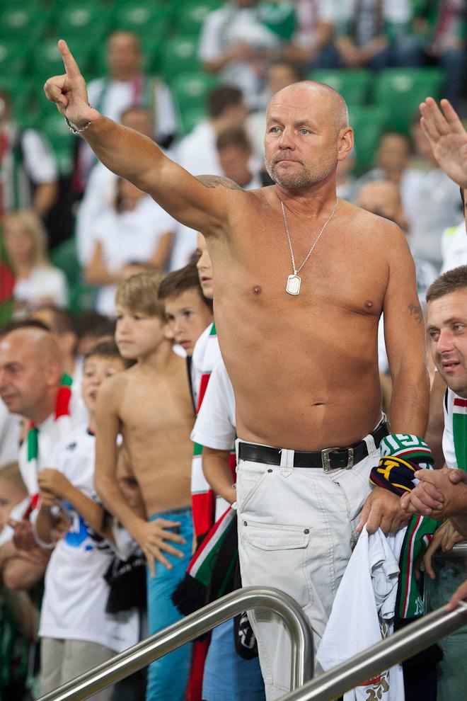 Legia Warszawa 2-2 Steaua Bukareszt - fot. Piotr Galas / Wiadomosci24.pl (zdjęcie 85 z 87)